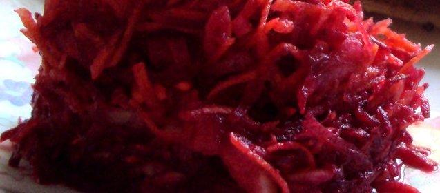 Салат к мясу пошагово рецепт