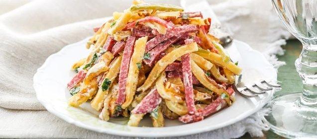 Блины рецепт с салаты