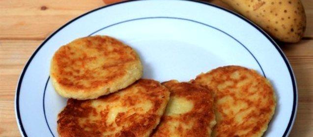 Картофельные оладьи рецепт с фото пошагово