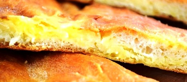 Как приготовить осетинский пирог с картошкой и сыром видео