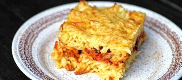 Запеканка макаронная рецепт с фото пошагово