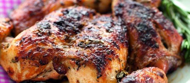 Курица запеченная пошаговый рецепт с