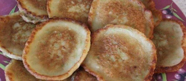Кабачковые оладушки рецепт пошагово