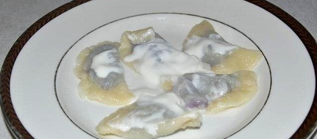 Вареники из черники рецепт с пошагово