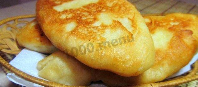 Как сделать пирожки с картошкой без дрожжей