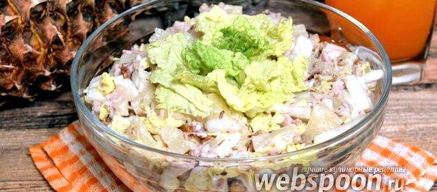 Салаты из пекинской капусты пошагово с