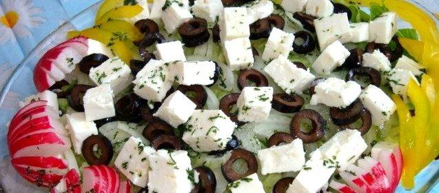 Блюда с фетой рецепты с фото
