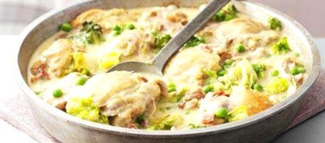 Курица по французски рецепт с фото пошагово