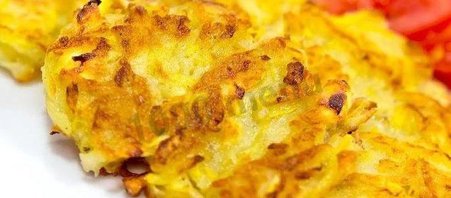 Драники картофельные с кабачками рецепт с пошагово