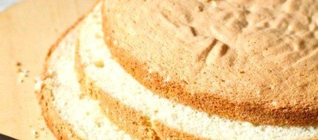 Бисквитный классический торт рецепт