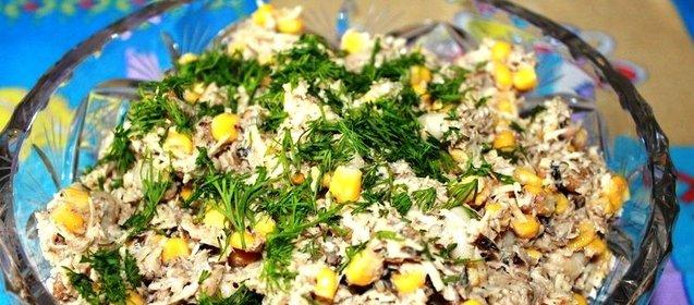 Салат со шпротами и сухариками рецепты с