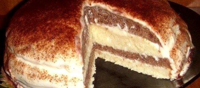 Кефирный торт рецепт с фото пошагово в домашних условиях
