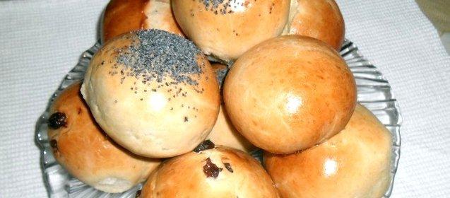 Вкусные мягкие булочки рецепт с фото