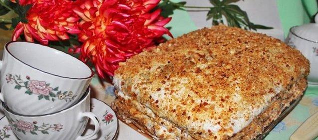 Приготовить торты рецепты с фото