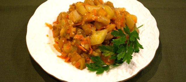 Рецепт для приготовления рагу
