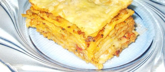 Рецепт с фото приготовление лазаньи в домашних условиях пошаговый с фото