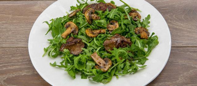 Пошаговый рецепт салат из рукколы
