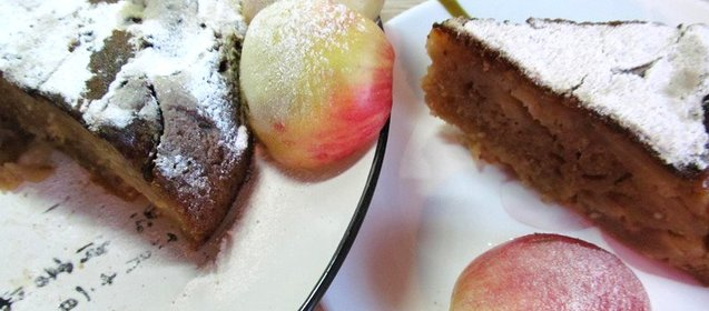 Яблочный пирог пошаговый рецепт в мультиварке