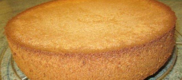 Бисквит на кипятке рецепт с фото в мультиварке