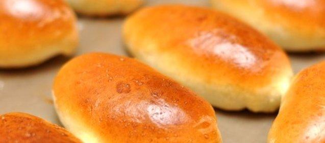 Пирожки с начинкой в духовке пошаговый