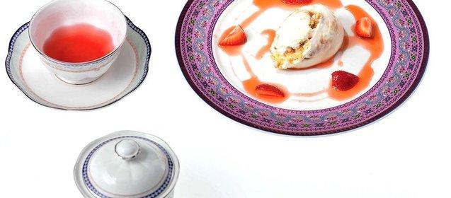 Рецепт чизкейка с клубникой пошаговым