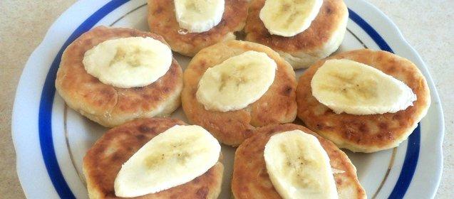 Сырники с бананом рецепт пошаговый с