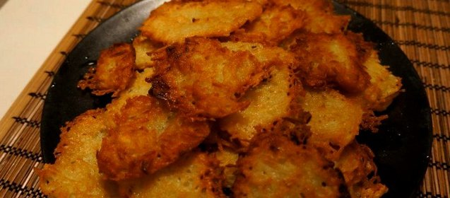 Драники в духовке с сыром рецепт с пошагово в