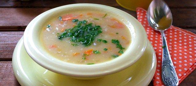 Молочный суп с затиркой