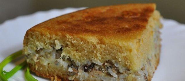 Пирог сайрой мультиварке рецепты с фото