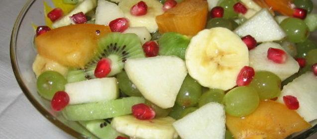 Рецепт салата фруктового с пошагово в