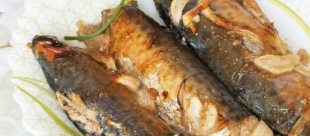 Скумбрия в духовке рецепт с фото пошагово