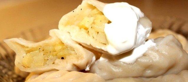 Вареники с тертой картошкой пошаговый рецепт