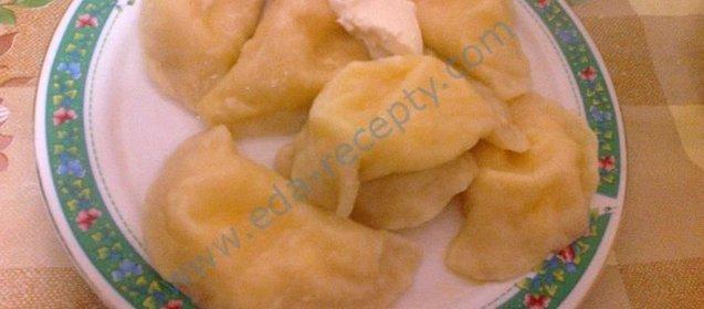Вареники с сырой картошкой и мясом пошаговый рецепт с