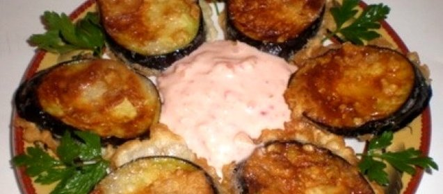 Рецепт баклажаны в кляре с пошагово