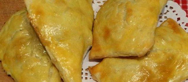 Слойки с курицей пошаговый рецепт с
