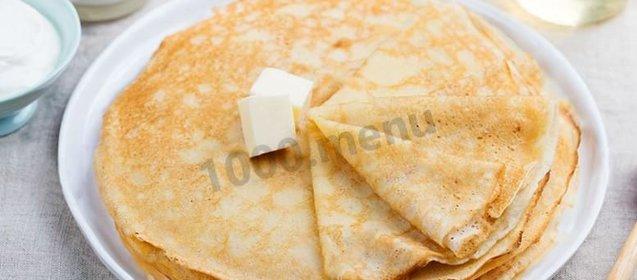 Вкусные блины на кислом молоке пошаговый рецепт с