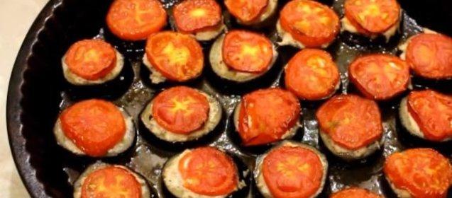 Баклажан с фаршем в духовке рецепт пошаговый