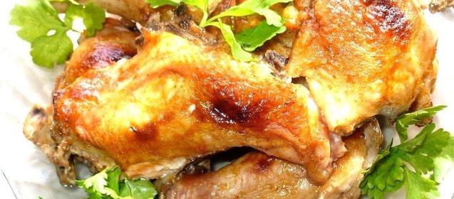 Курица куски в духовке в рукаве рецепт