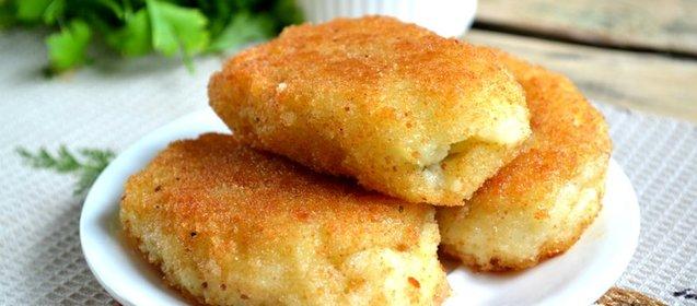 Постные картофельные котлеты рецепт с фото пошагово