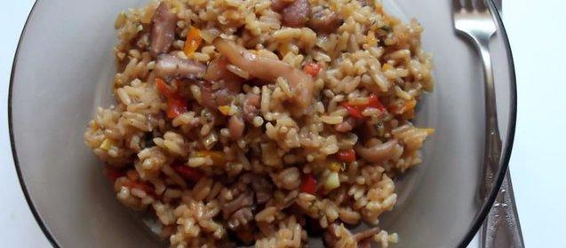 Рис с мидиями пошаговый рецепт