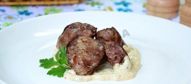 Пошаговый рецепт куриная печень