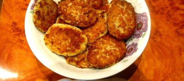 Рецепт котлет из трески с пошагово