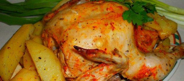 Соус для курицы в рукаве в духовке с фото с