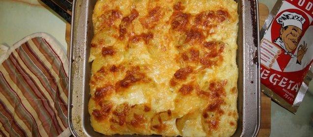 Как приготовить картофельную запеканку пошаговое