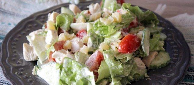 Салаты из свежих овощей рецепты простые и вкусные