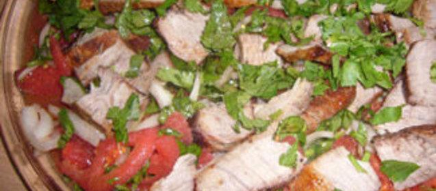 Салаты из свинины рецепты с простые и вкусные пошаговые рецепты