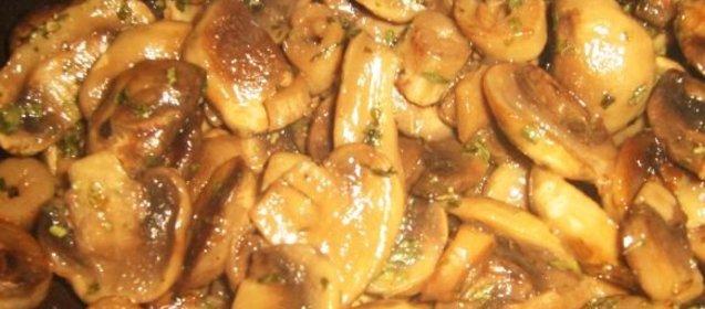Блюда из шампиньонов рецепты простые