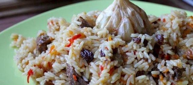 Узбекский плов рецепт с пошагово с изюмом