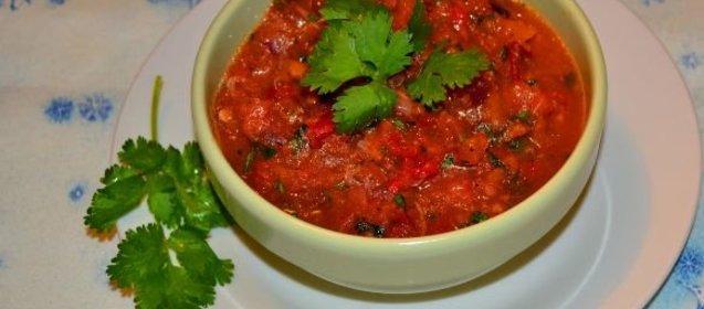 Соус сальса пошаговый рецепт с фото