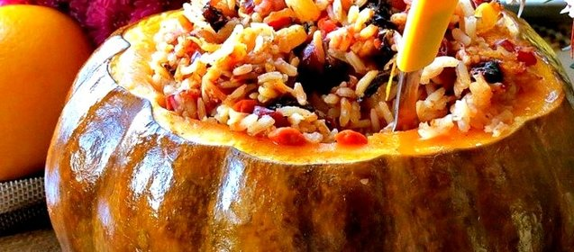 Рис и тыква рецепт пошаговый